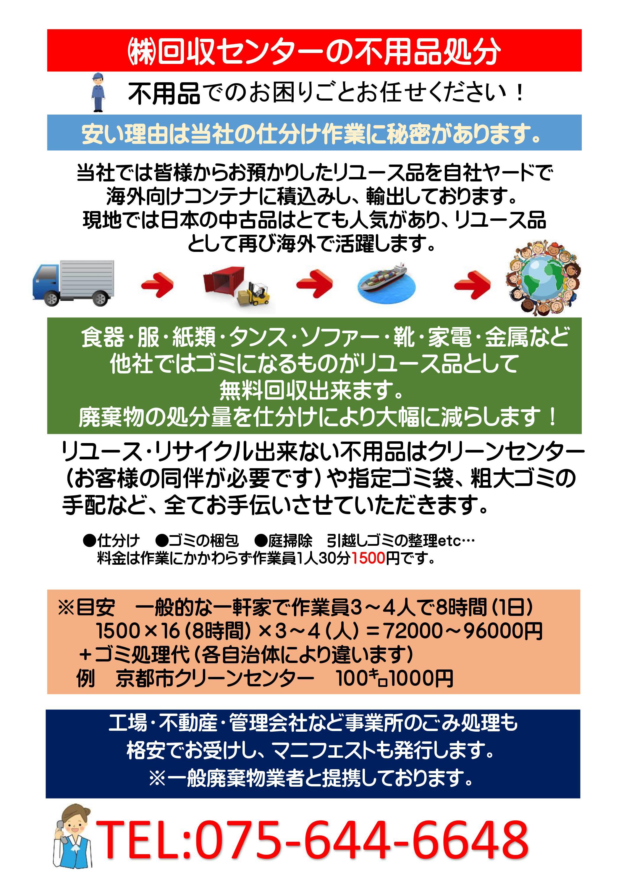 大型 京都 ゴミ 市